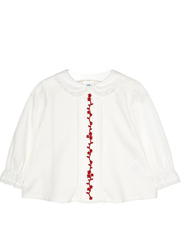 Mayoral - Bluse Bestickt für Baby - Mädchen - 2124, Rot