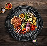 Elite Gourmet EMG-980B Maxi-Matic 14-Inch Electric Indoor Grill, Black