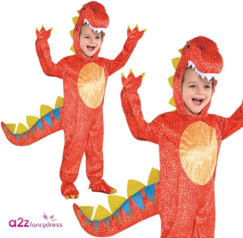 Traje Dinomite Dinosaurio - Edad 7-9 Años: Amazon.es: Juguetes y ...