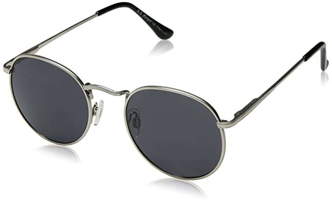 eb23ebe649 Image Unavailable. Image not available for. Colour  A.J. Morgan Bradley Round  Sunglasses ...
