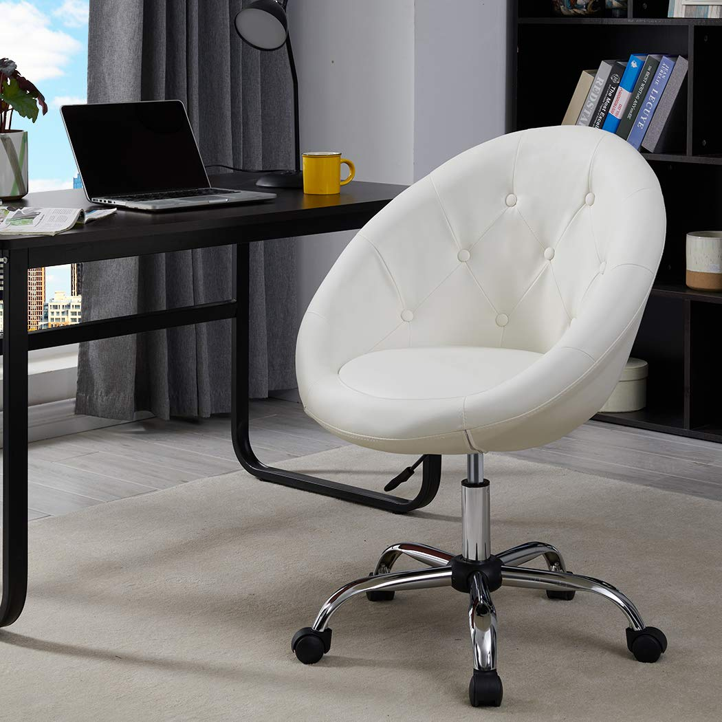 Duhome Home Office Chair Task Computer Chair With Wheels