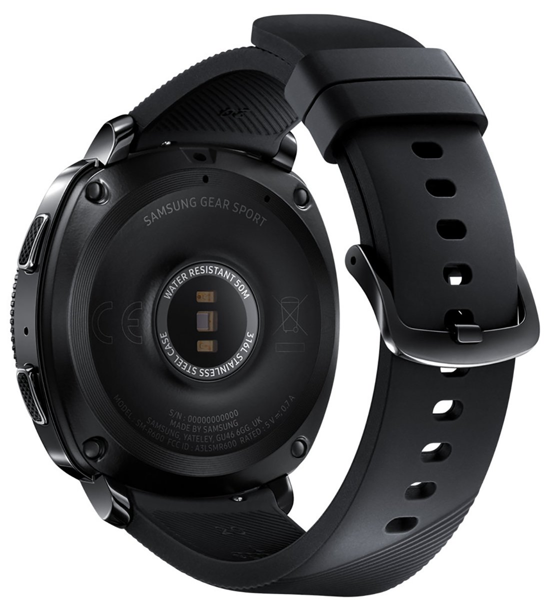 Samsung Gear Sport Smartwatch Fitness Tracker- Water Resistant - International Version- No Warranty- Black (SM-R600NZKATTT) by Samsung (Image #4)
