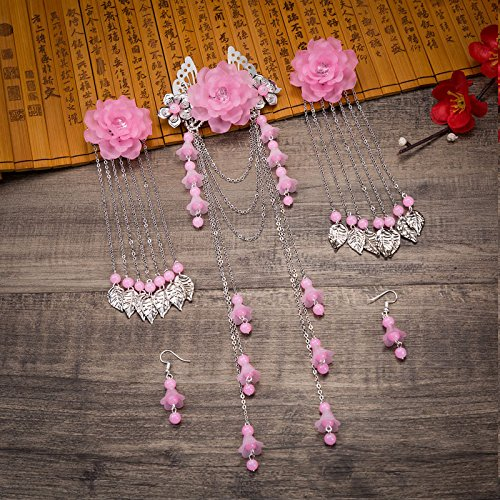 TKHNE 2018 loss clearance classical ancient costume headdress hairpin hair accessories package lightning delivery or return freshly (Lightning Returns Costumes)