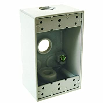 Hubbell-Bell 5320-1 Single Gang 3-1/2-Inch Outlets  sc 1 st  Amazon.com & Hubbell-Bell 5320-1 Single Gang 3-1/2-Inch Outlets Weatherproof ... Aboutintivar.Com