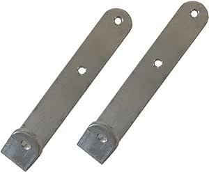 Krause 122308 - Ganchos para colgar escaleras (2 unidades, aluminio): Amazon.es: Bricolaje y herramientas