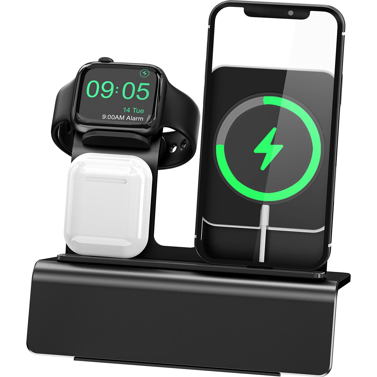 Yestan Wireless Charger Stand Compatible with Magsafe Charger Phone 12 Pro Max