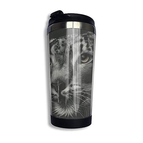 Amazon.com: Taza de café con termo para gato, nieve ...