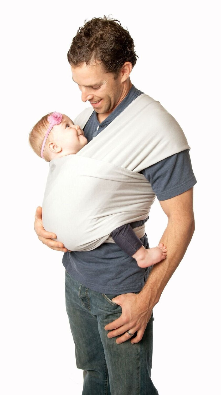 Moby Wrap Bamboo Wrap Baby Carrier