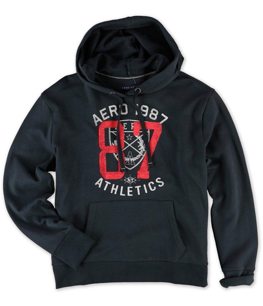 Aeropostale Womens Athletic '87 Hoodie Sweatshirt Grey M - Juniors by Aeropostale