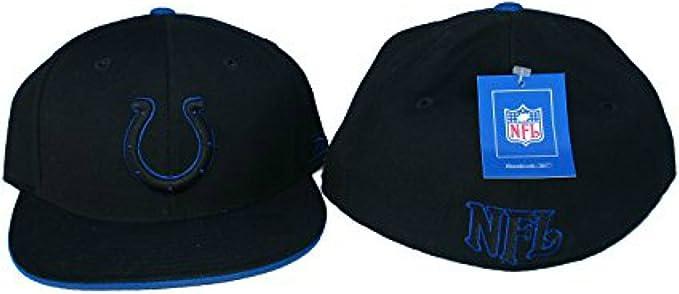Genuine Merchandise Cincinnati Bengals Fitted Size 7 1//8 Hat Cap Black and White