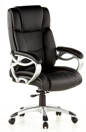 HJH Office TRITON 400 Silla de oficina Negro 80 x 36 x 66 cm: Amazon.es: Hogar