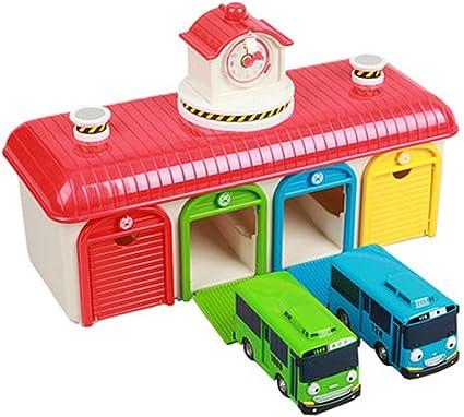 Gani Set Tayo Tayo The Little Bus 3 pièces Jouet Set Avec Pull Back Action Rogi