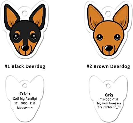 Personalized Dog Tags Funny Dog Face Design Dog Name Tag Dog Tags for Dogs Personalized Dog Tag Unique Dog Tags for Dogs