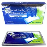 Teeth Whitening Strips for a Whiter Brighter Smile. Professional Whitening Kit. Sensitvity-Free Dental Care and Oral Hygiene. Stain Removal, Fresh Mint Flavour. 28 Pieces/14 Treatments of Teeth Whitener