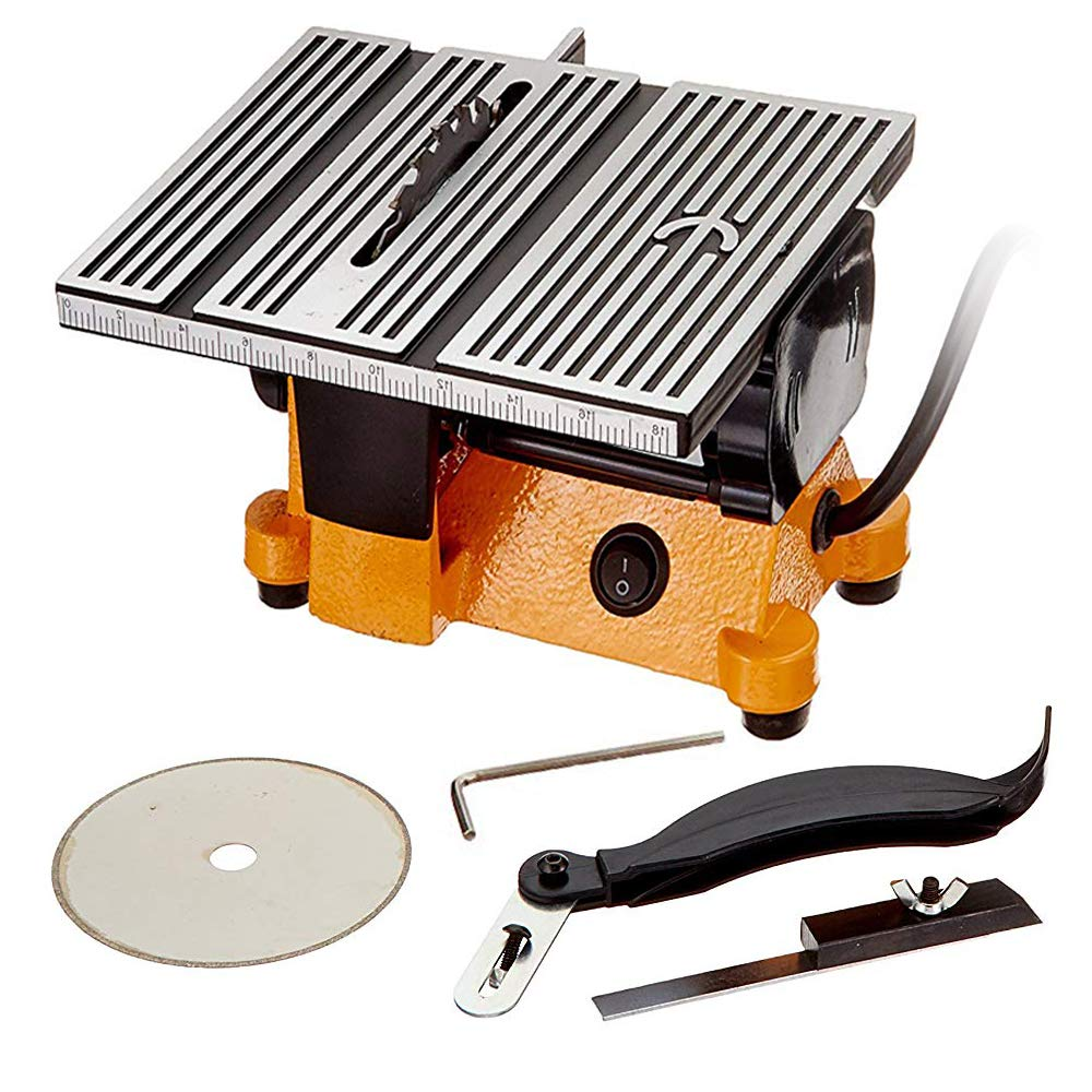 Lion Tools DB01-0819 Mini Electric Table Saw, 4-Inch by Toolman
