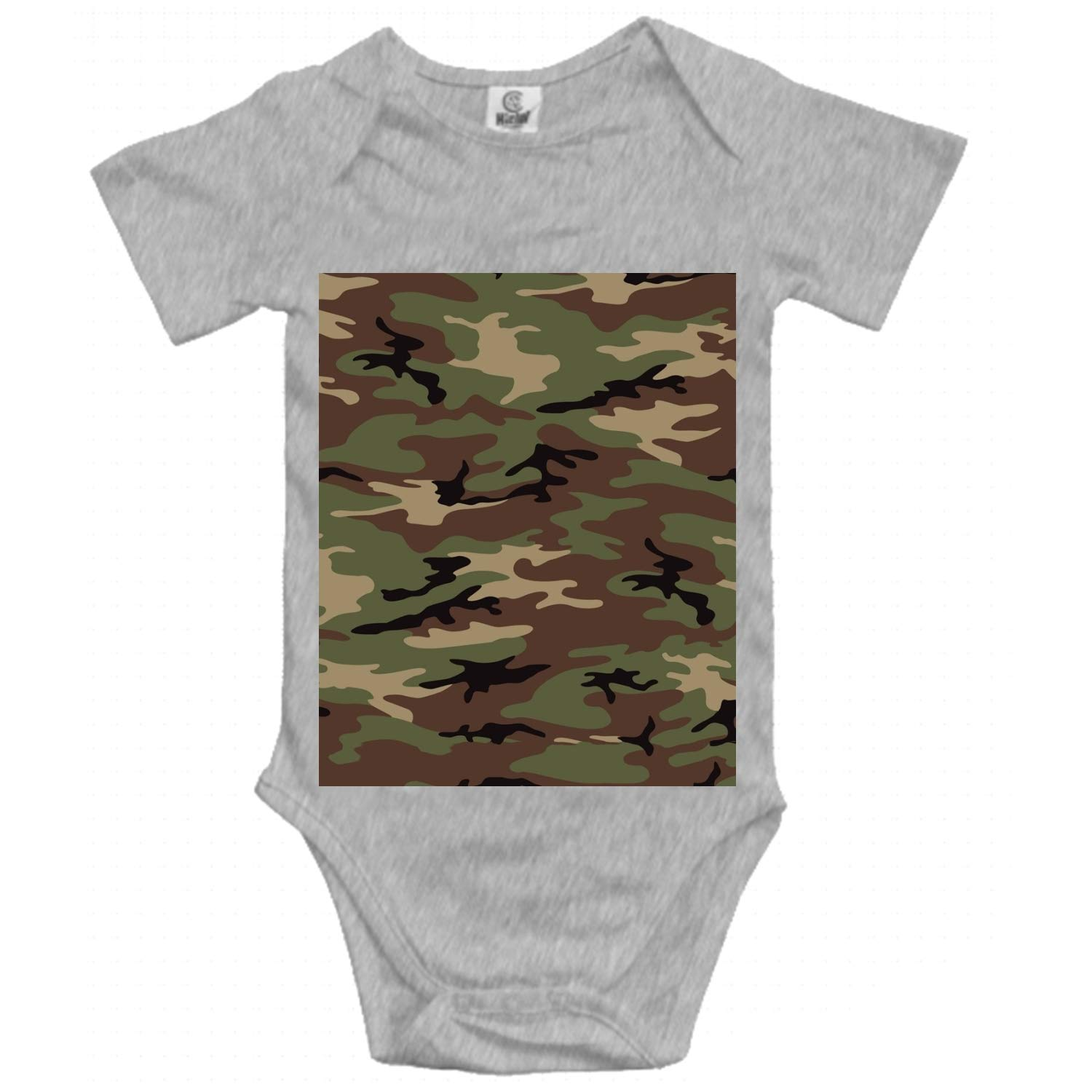 Bodysuits YooSoeLink Newborn Toddler Baby Sleeveless Bodysuit-Woodland Army Camouflage Romper Jumpsuit Casual Clothes Bodysuits & One-Piece Suits