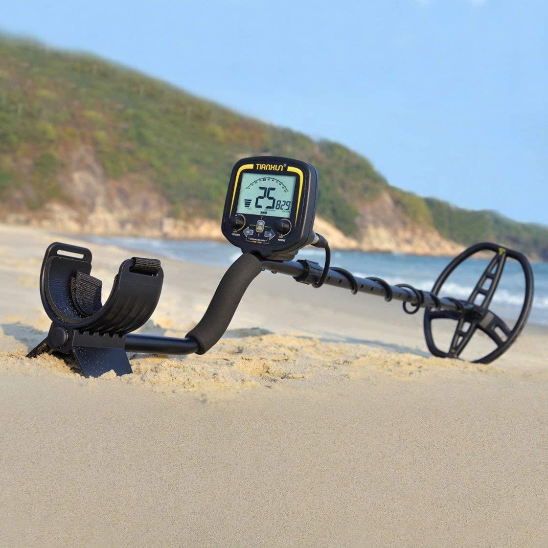 Detector de metales profesional TX-850 Detector de escáner de profundidad subterránea de 2,5 m Detector de oro Cazador de tesoros que detecta Pinpointer: ...