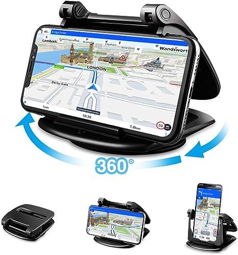 Cinati Soporte móvil de Coche portátil para salpicadero de Coche ...