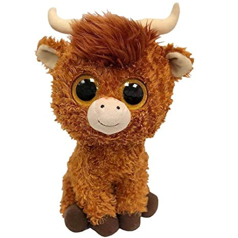 Amazon.com   Ty Beanie Babies Boos 36406 Angus the Scottish Highland Cow Boo  Buddy   Office Products fb58a616590b
