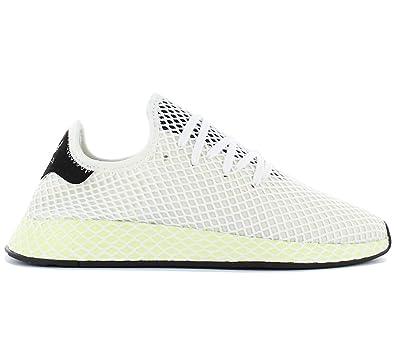 factory price 5fca1 520a1 Adidas Deerupt Runner Sneaker Uomo CQ2629 Cwhite Cblack Cblack (41 13 EU)