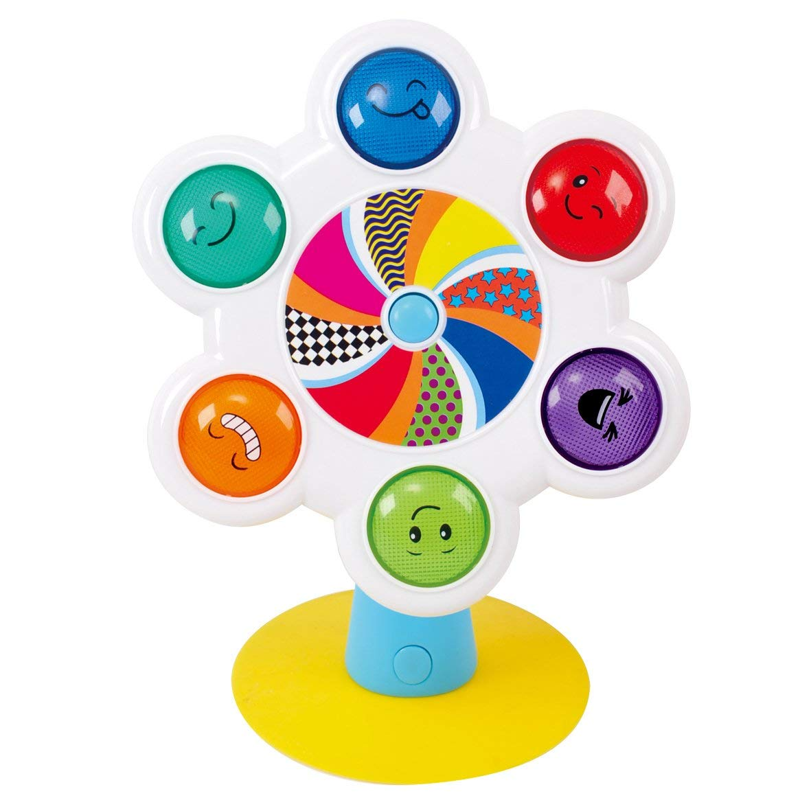 PlayGo Wheel Go Round Baby Spinning Toy - Brain Developmental Toy for Infant Kids Early Learning - for Ages 6 Months & Up