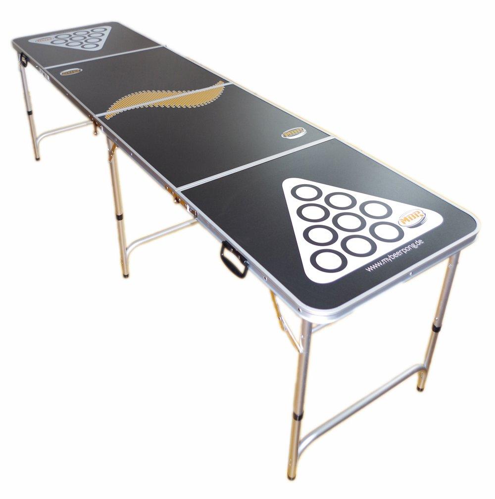 Beer Pong Tisch / Bier Pong Tisch inkl. 6 Bälle - Maße 244x60 cm