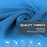 """[4 Pack] Cooling Towel (40""""x12""""), Ice Towel, Soft"""