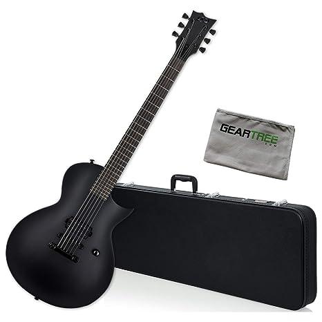 ESP LTD EC-Black Metal BLKS Satin - Guitarra eléctrica con caja ...