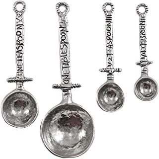 product image for Crosby & Taylor Celtic Pewter Measuring Spoon Set