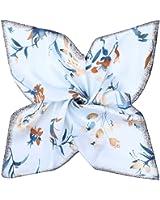 185ebc88722 DAMILY Femmes Écharpe Bandana avec Motifs Floraux Doux Carrée Cou Châle  Wraps