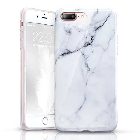 coque marbre silicone iphone 8 plus
