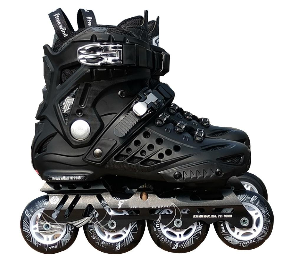 Outdoor Inline Skates Adults Black , 35