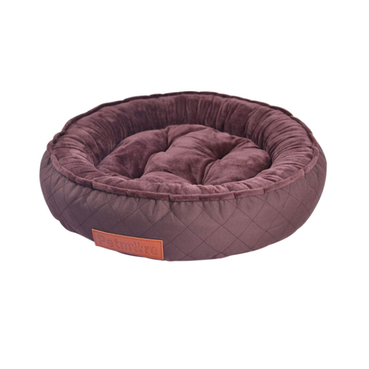 Brown LTongboshi Dog Bed, Detachable Puppy, Teddy golden Dog Pad, Large Dog Bed, Small Medium and Large Mattress, Dog Mattress, Pet Supplies, Garfield, Kennel (color   Brown, Size   L)