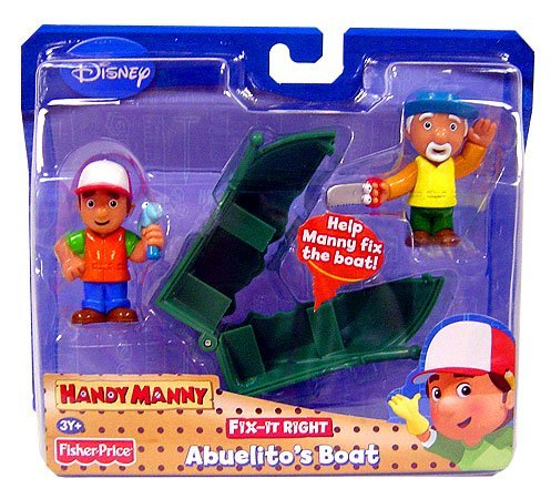 Handy Manny Fix-It-Right Figure Abuelito's Boat by Fisher-Price