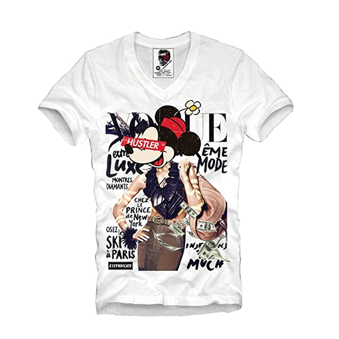 E1Syndicate T Shirt Hustle Supreme Palace Fashion Dollar Bong Yeezy