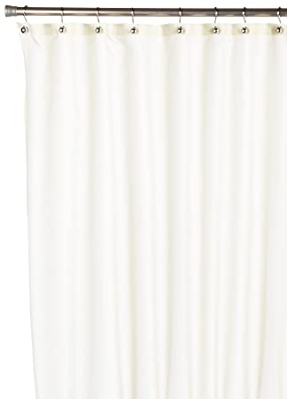 Marvelous Carnation Home Fashions, Inc Nylon Shower Curtain Liner, Ivory
