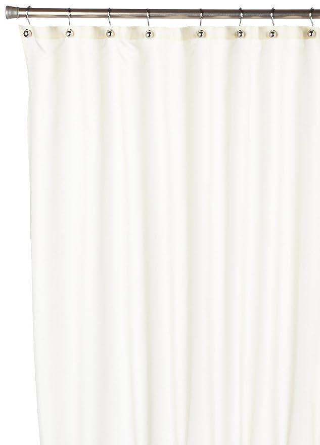 Amazon Carnation Home Fashions Inc Nylon Shower Curtain Liner White Kitchen