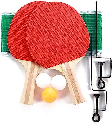 Juegos de Ping Pong portátiles DIF, Redes de Tenis de Mesa retráctiles con 2 Palos y