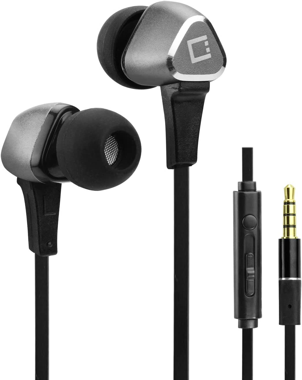 Cellet Hands Free Stereo in-Ear Headphones with Built-in Microphone and Multi-Function Remote, Compatible for Kyocera DuraForce Pro 1/2,Dura XV LTE,Cadence LTE,Google Pixel XL,Asus ZenFone V Live