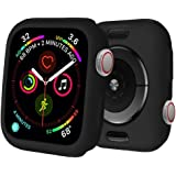 BOTOMALL for Apple Watch Case 40mm Series 6/5/4/SE Premium Soft Flexible TPU Thin Lightweight Protective Bumper Cover Protect
