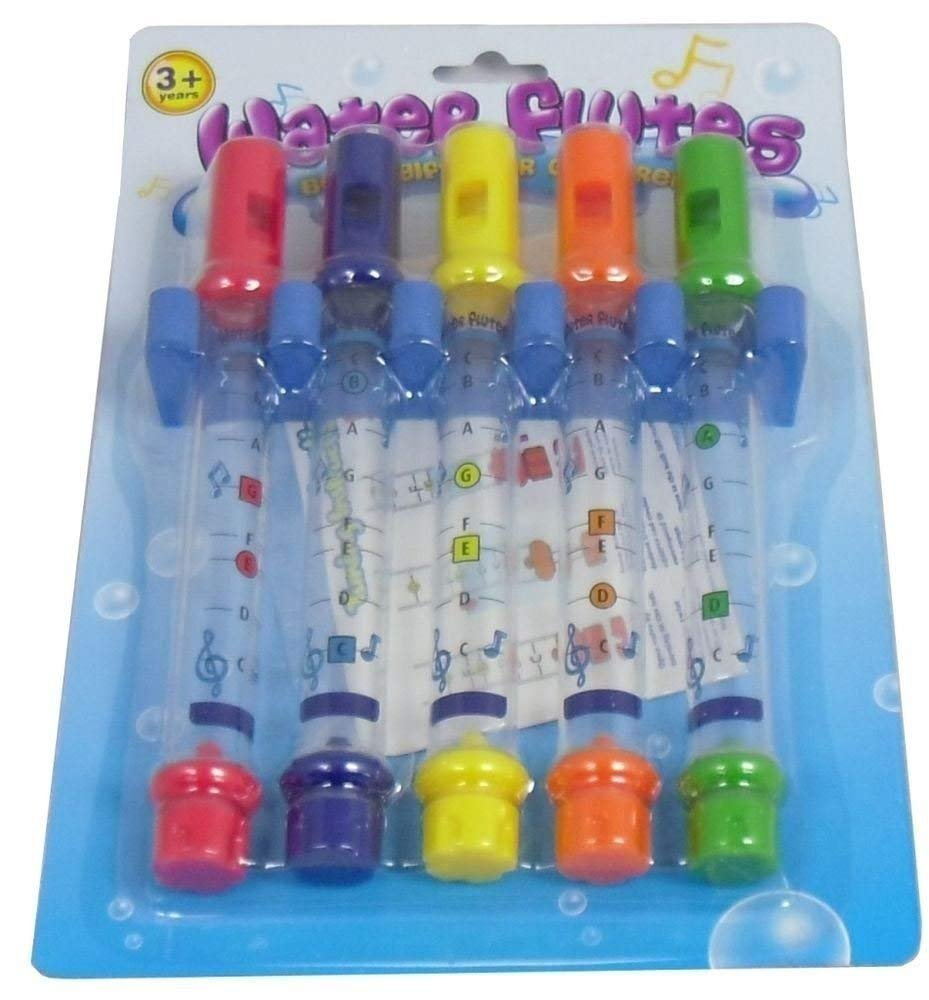 Kids Children Bathing Shower Bath Tub Water Flute Whistles Music Toy
