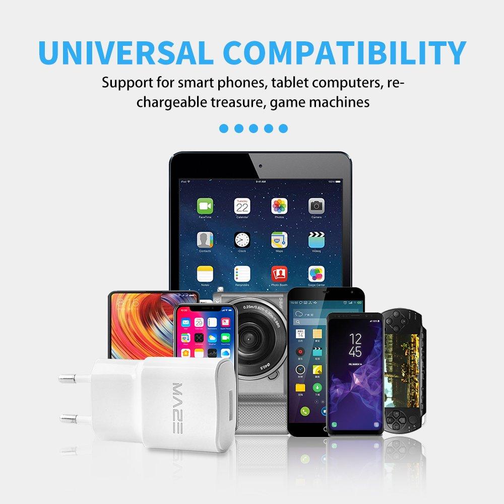 Maze carga rápida 2.0 Tecnología principal 3-Pin Plug USB cargador ...