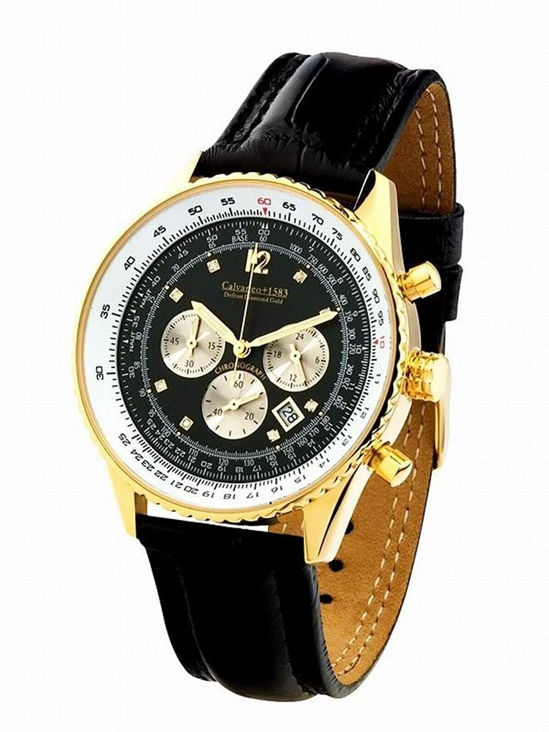Defcon Diamond Gold BLACK - (Vergoldet) - Calvaneo 1583