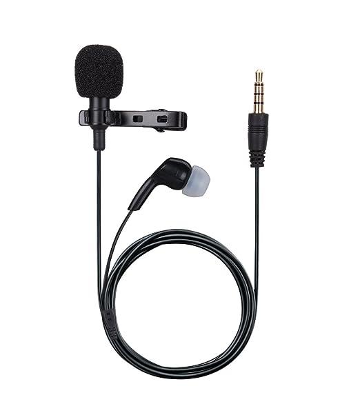 133 opinioni per AGPTEK Mini Microfono Clip con Auricolare a Condensatore Omnidirezionale 3.5mm