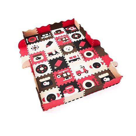9 piezas de colchonetas de espuma impermeable para niños ...
