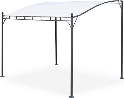 Alices Garden - Pérgola de Pared 3x2.5m Crudo - BRESTUM: Amazon ...