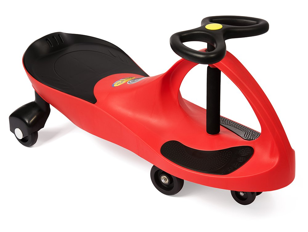 amazoncom the original plasmacar by plasmart red ride on toy ages 3 yrs and up no batteries gears or pedals twist turn wiggle for endless fun