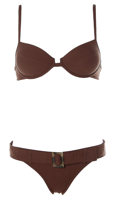 S.Oliver Damen Push Up Bügel Bikini Ziergürtel