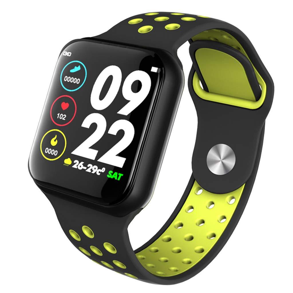 Amazon.com: Novania F8 IP67 Waterproof Smartwatch Heart Rate ...