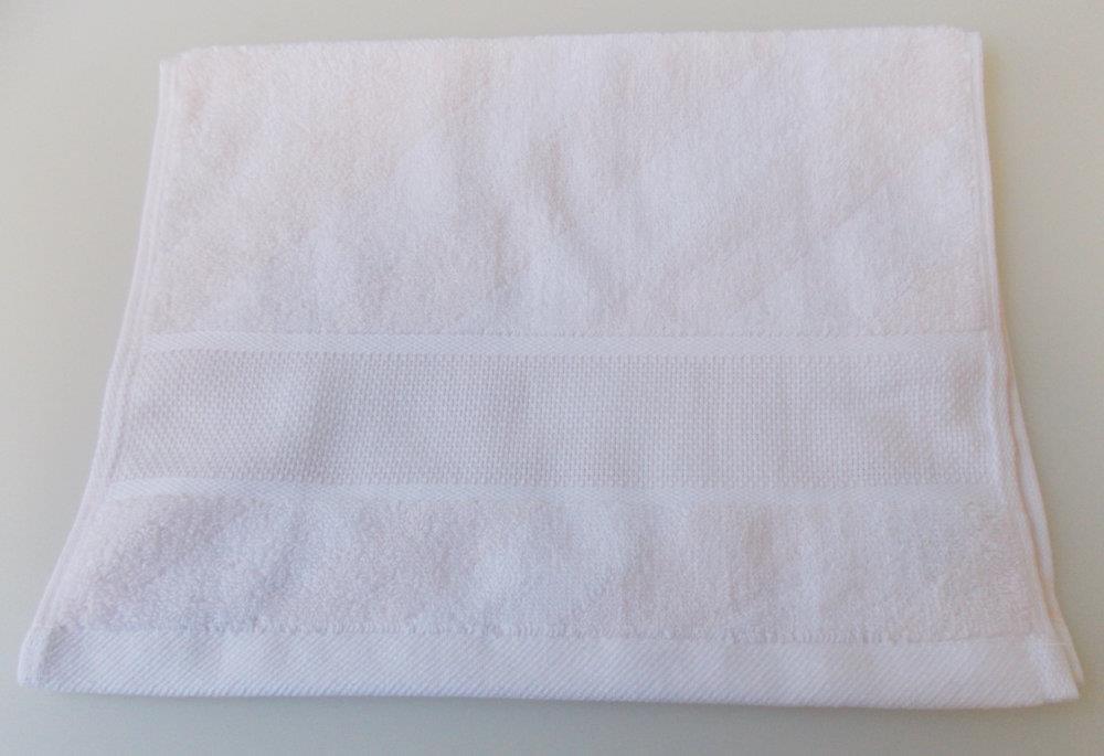 Rico-de diseño de una toalla de baño toalla de baño con diseño de Aida de cenefa para deseado en el interior de contadas para punto de cruz: Amazon.es: ...